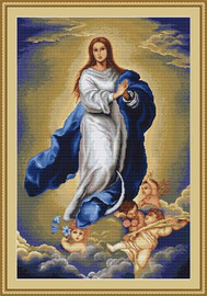Immaculate Conception Cross Stitch Kit By Luca S