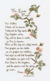 The Lords Prayer Cross Stitch Kit