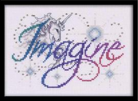 Imagine Cross Stitch Kit By Design Works