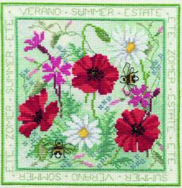 Four Seasons - Summer Cross Stitch Kit
