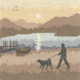 Sunset Stroll Cross Stitch Kit