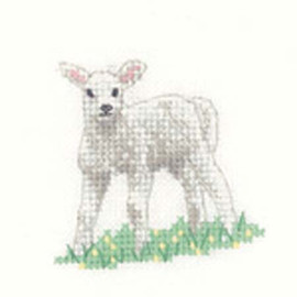 Lamb Cross Stitch Kit For Beginners