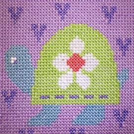 Tortoise Starter Cross Stitch Kit