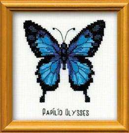 Ulysses Butterfly Cross Stitch Kit By Riolis