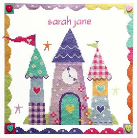 Enchanted Castle Cross Stitch Kit By Stitching Shed