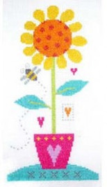 Sunflower Cross Stitch Kit