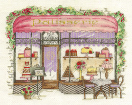 Patisserie Cross Stitch Kit By Dmc
