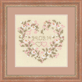 From The Heart Cross Stitch Kit By Riolis