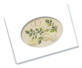 Card - Wedding Cross Stitch Kit