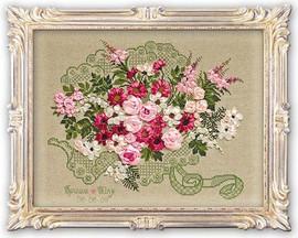 Wedding Bouquet Cross Stitch Kit