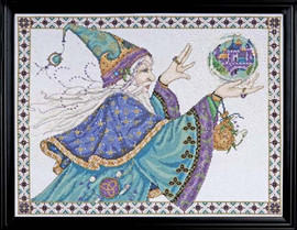 Wizard Cross Stitch Kit By Design Works