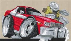 Ford Starsky & Hutch Cross Stitch Chart