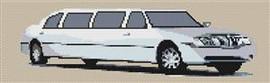 Lincoln Stretch Limousine Cross Stitch Chart