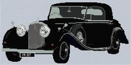 1930S Bentley Cross Stitch Chart