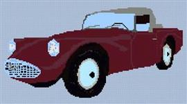 Daimler Sp 250 Dart Cross Stitch Chart