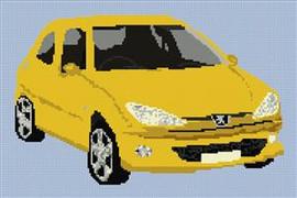 Peugeot 205 Cross Stitch Chart