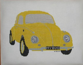 Volkswagen Beetle Cross Stitch Chart