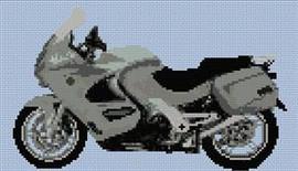 Bmw Gt Motorcycle Cross Stitch Pattern