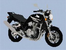 Honda Cb1300 Motorcycle Cross Stitch Chart