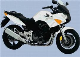 Honda Cbf 600 Motorcycle Cross Stitch Chart
