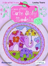Cute Baby Models Cross Sttich Book