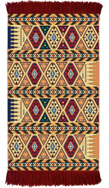 Inca Rug/Wall Hanging Cross Stitch Kit