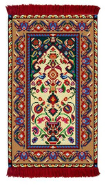 Herat Rug/Wall Hanging Cross Stitch Kit