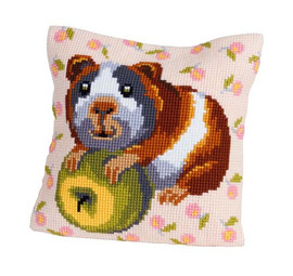 Hungry Harry Chunky Cross Stitch Cushion Kit