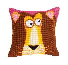 King Leon Chunky Cross Stitch Cushion Kit