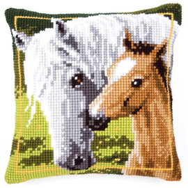 Horse With Foal Chunky Vervaco Cross Stitch Kit