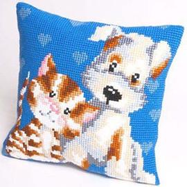 Les Amis Chunky Cross Stitch Cushion Kit