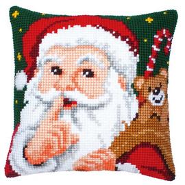 Santa Chunky Cross Stitch Kit