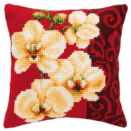 Orchid Chunky Cross Stitch Kit