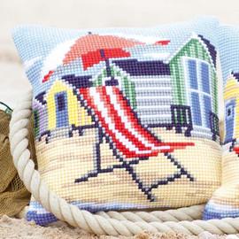 Deck Chair By The Sea Vervaco Chunky Cushion Kit