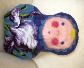 Baba Iris Chunky Cross Stitch Kit