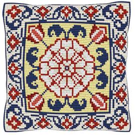 Malaga Chunky Cross Stitch Cushion Kit