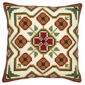 Chunky Cross Stitch Pattern Cushion 1