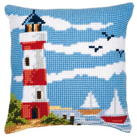 Big Light House Chunky Cross Stitch Kit