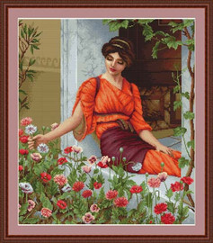 Flowers Of Summer Petit Cross Stitch Kit By Luca S