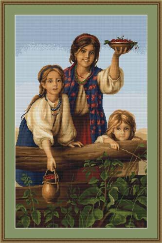 Buy Berries Petit Cross Stitch Kit By Luca S