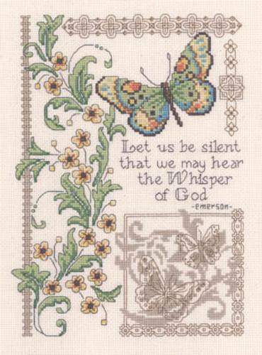Whisper Of God - Cross Stitch Pattern by Diane Arthurs