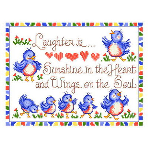 Wings on the Soul Cross Stitch Chart By Ursula Michael