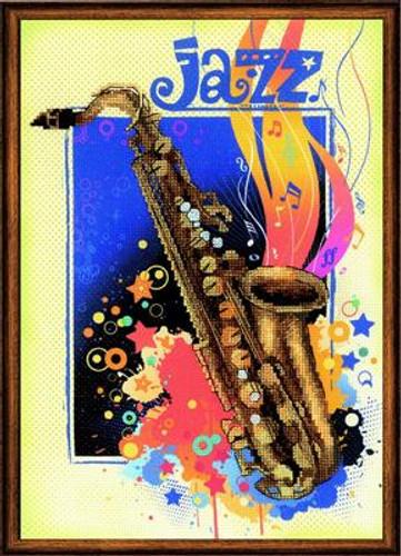 Jazz Cross Stitch Kit by Riolis