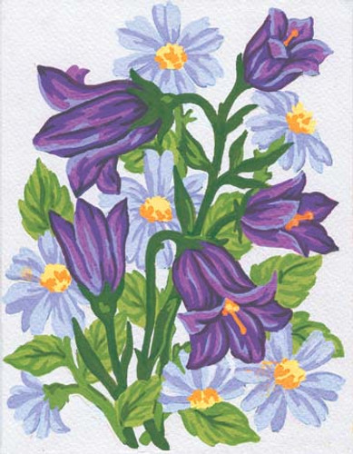 Harebells Canvas only By Grafitec