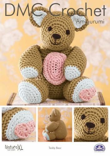 Teddy Bear  Crochet Pattern by DMC