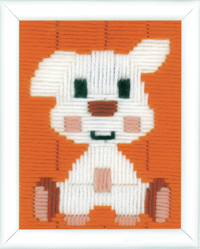 Doggy  Long Stitch Kit By Vervaco