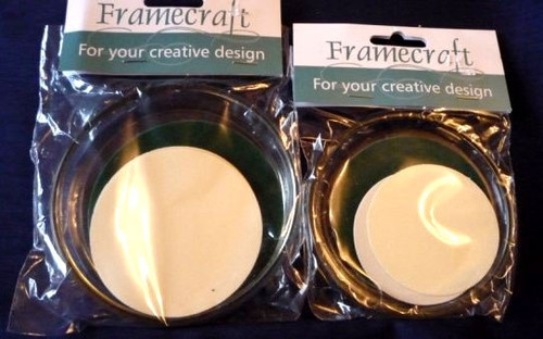 Round Coasters – Glass - Pack of 6