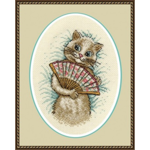 Madam Cross stitch Kit by Oven