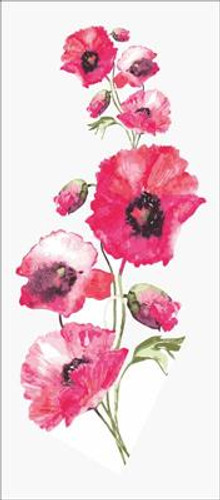 Wild Poppies Tapestry Canvas By Grafitec