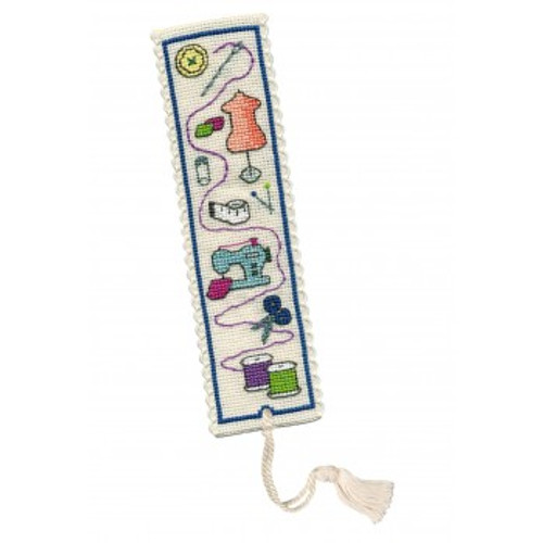 Sewing Bookmark cross Stitch Kit by Textile Heritage